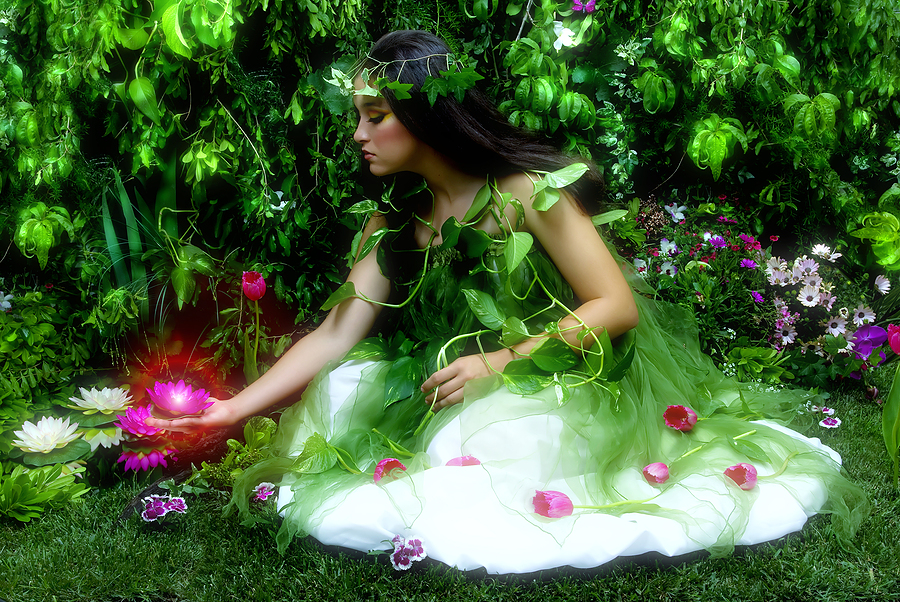 bigstock-Enchanted-garden-and-the-fairy-27334916